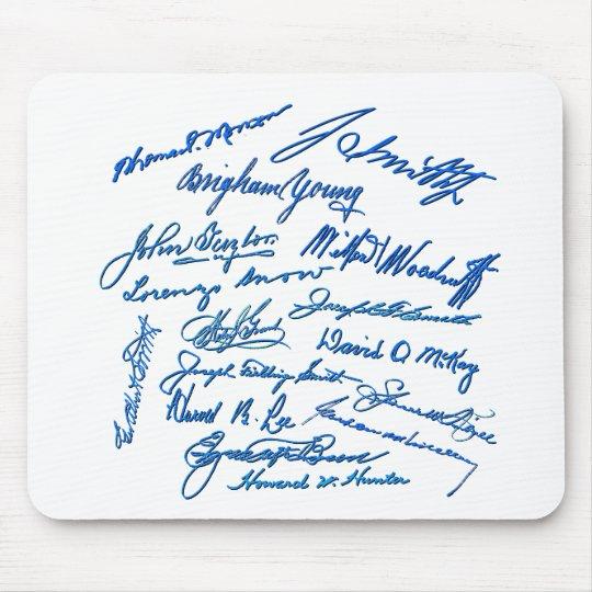 Prophets Autographs Mouse Pad