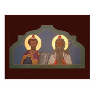 Prophets Moses and Aaron Prayer Card
