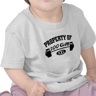 Propiedad 200 del niño del club XXL/de la camiseta