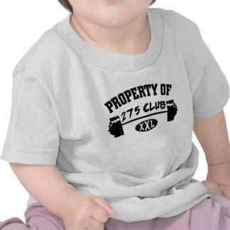 Propiedad 275 de la camiseta del niño del club XXL