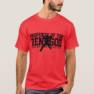 """""""PROPIEDAD camiseta roja del RENEGOD"""""""