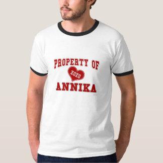 Propiedad de Annika Playera