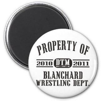 Propiedad de Blanchard que lucha Imán Redondo 5 Cm