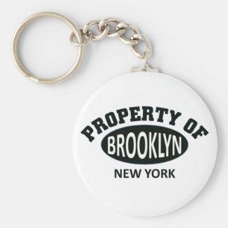 Propiedad de Brooklyn, Nueva York Llaveros