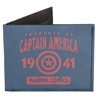 Propiedad de capitán América Billeteras Tyvek®