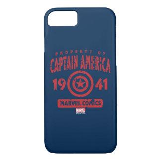 Propiedad de capitán América Funda iPhone 7
