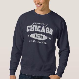 Propiedad de Chicago Sudadera Con Capucha