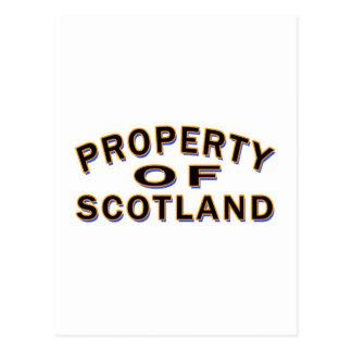Propiedad de Escocia Postal