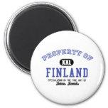 Propiedad de Finlandia Imán
