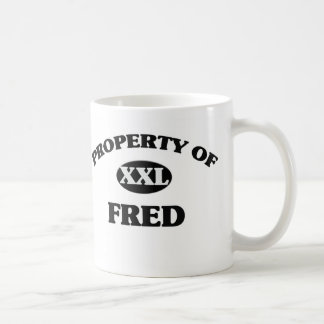 Propiedad de FRED Taza De Café