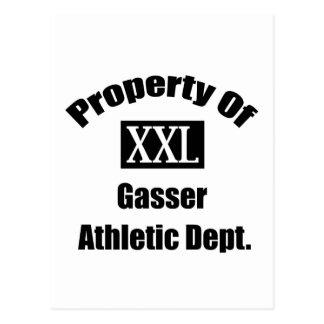 Propiedad de Gasser por Gear4gearheads Postales