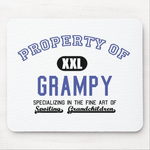 Propiedad de Grampy Alfombrillas De Ratón