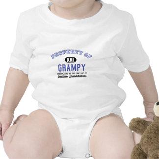 Propiedad de Grampy Traje De Bebé