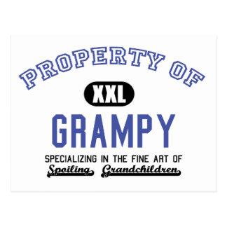 Propiedad de Grampy Postales