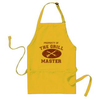 Propiedad de Grill Master Delantales