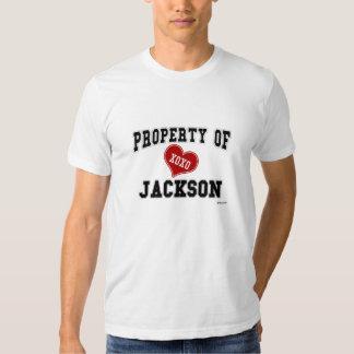 Propiedad de Jackson Poleras