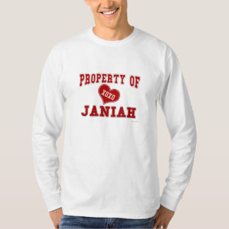 Propiedad de Janiah Playera