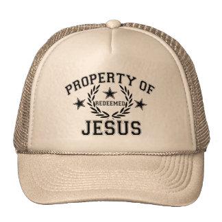PROPIEDAD DE JESÚS GORROS BORDADOS