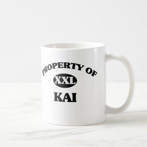 Propiedad de KAI Taza Básica Blanca