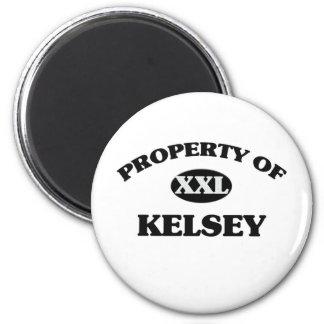 Propiedad de KELSEY Imán Redondo 5 Cm