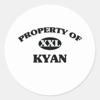 Propiedad de KYAN Pegatinas