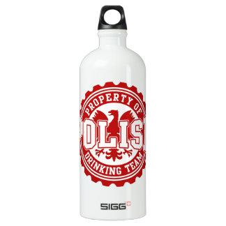 Propiedad de la botella de consumición polaca de