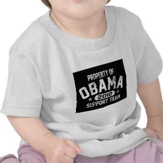 propiedad de la camisa de la oscuridad de obama