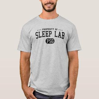 Propiedad de la camiseta del laboratorio del sueño