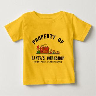 Propiedad de la camiseta del taller de Santa Playeras