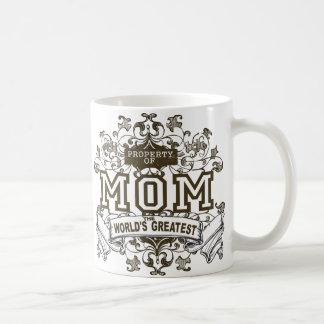 Propiedad de la MAMÁ Tazas De Café