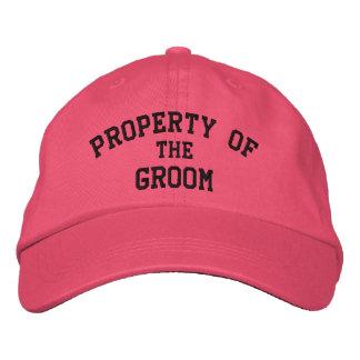 Propiedad de la novia - bordada casando los gorras gorras bordadas