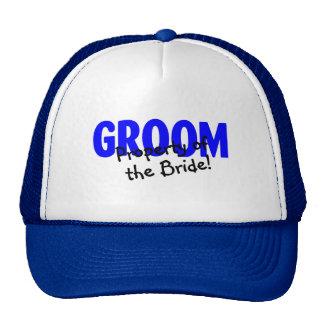 Propiedad de la novia gorra