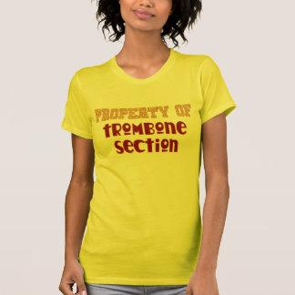 Propiedad de la sección del Trombone Camisetas