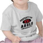 Propiedad de la universidad de Abels Camisetas