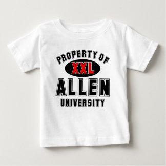 Propiedad de la universidad de Allen Tee Shirt