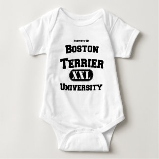 Propiedad de la universidad de Boston Terrier Body Para Bebé