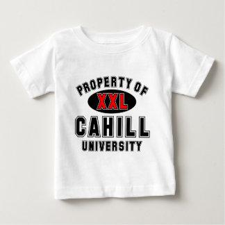 Propiedad de la universidad de Cahill Camisetas
