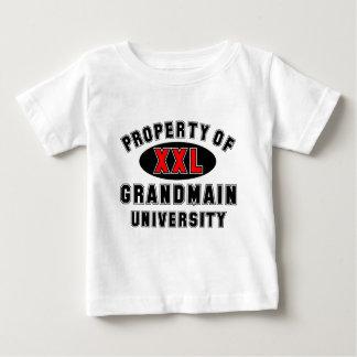 Propiedad de la universidad de Grandmain T-shirt