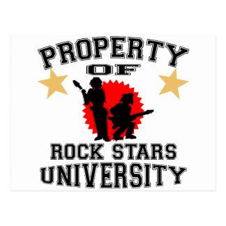 Propiedad de la universidad de la estrella del postal