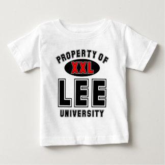 Propiedad de la universidad de Lee Tshirts