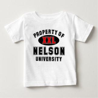 Propiedad de la universidad de Nelson T-shirts