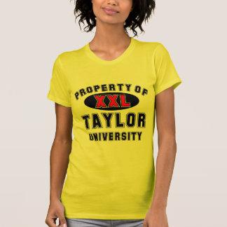 Propiedad de la universidad de Taylor T-shirt