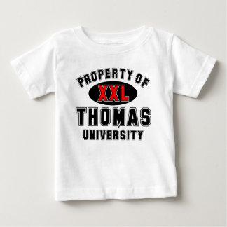 Propiedad de la universidad de Thomas Tshirt