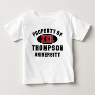 Propiedad de la universidad de Thompson Camiseta