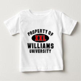 Propiedad de la universidad de Williams Tshirt