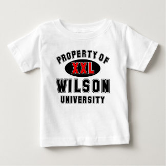 Propiedad de la universidad de Wilson Tshirts