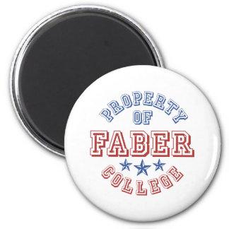 Propiedad de la universidad Faber Imán Redondo 5 Cm