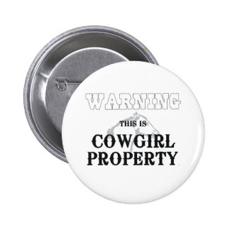 Propiedad de la vaquera de la CAMISETA Pin