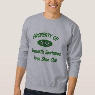 Propiedad de las herraduras de la camiseta suéter