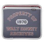 Propiedad de los archivos de Walt Disney Fundas Para iPads
